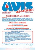 ANNO XVI - N.1 - Febbraio 2009